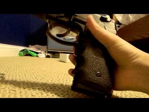JLS 2010b M9 M92 Airsoft Electric Gun