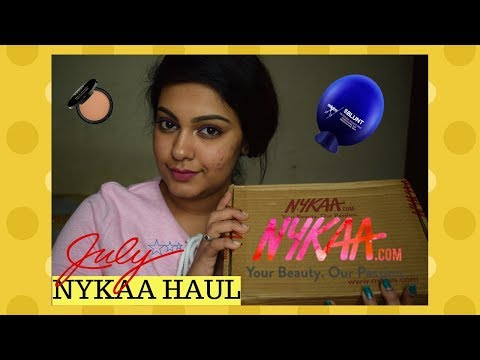 Nykaa Sale Haul | JULY Month 2018 | Monthly Nykaa Haul