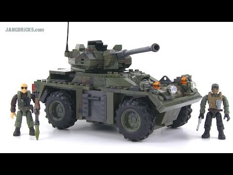 Mega Bloks Call of Duty 06856 APC Invasion set review!