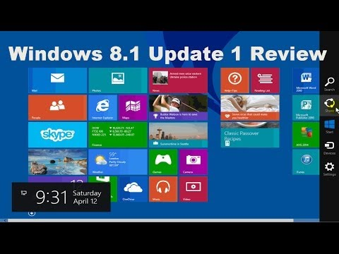 Windows 8.1 Update 1 New Features Explained!!! Tutorial Review - Beginners Video Guide 2014