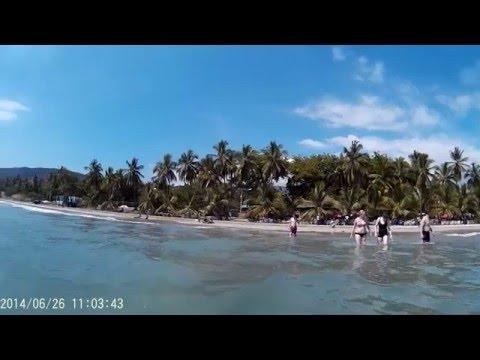 Warm water at Raymond beach SBF Project Haiti 2016