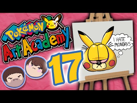 Pokemon Art Academy: Return of the Sass - PART 17 - Grumpcade