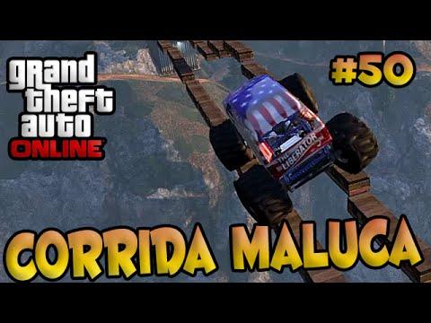 GTA V Online Corrida Maluca #50 Funny Moments Insano.
