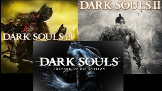 Dark souls vs DS2 VS DS3 ANILLO DEL LEÓN