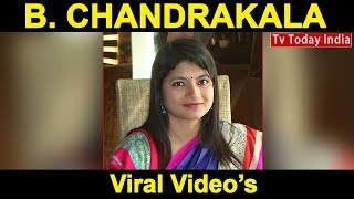 B. Chandrakala's Viral videos | Very famous Ias officer of India