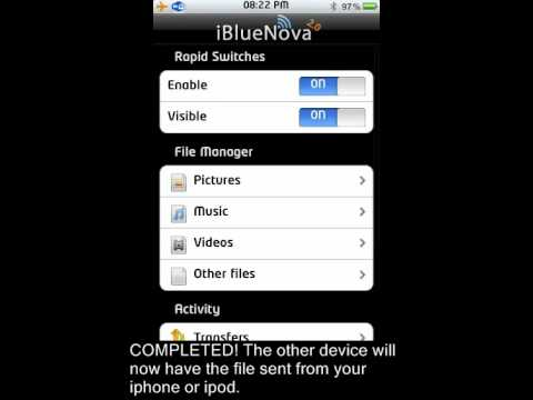 Ibluenova is a cydia application that lets you transfer any file (including photos, music, document, etc) from iphone