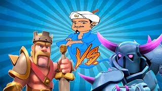 Clash Of Clans PEKKA vs KING(Опрос Фанатов! )