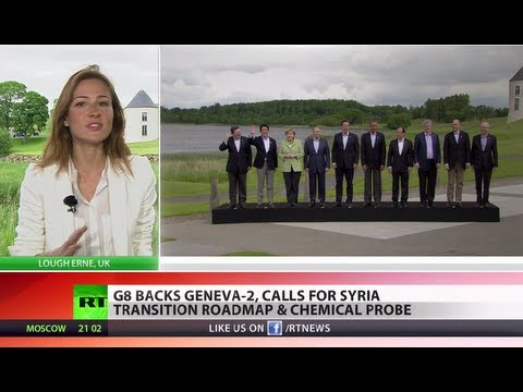 Putin: Russia wasn't isolated at G8, not all agree Assad used chemical weapons