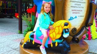 Best Outdoor Playgrounds for kids Amusement park Funny playtime