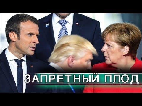 Иранский интерес Меркель и Макрона