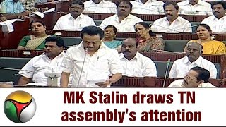 MK Stalin draws TN assembly's attention to increasing electrocutions in Kolathur