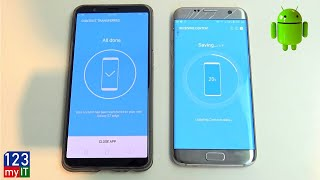 Transfer data Android to Android 2018