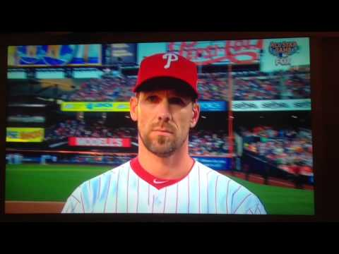 Epic Cliff Lee Stone Face - 2013 All Star Game Intro