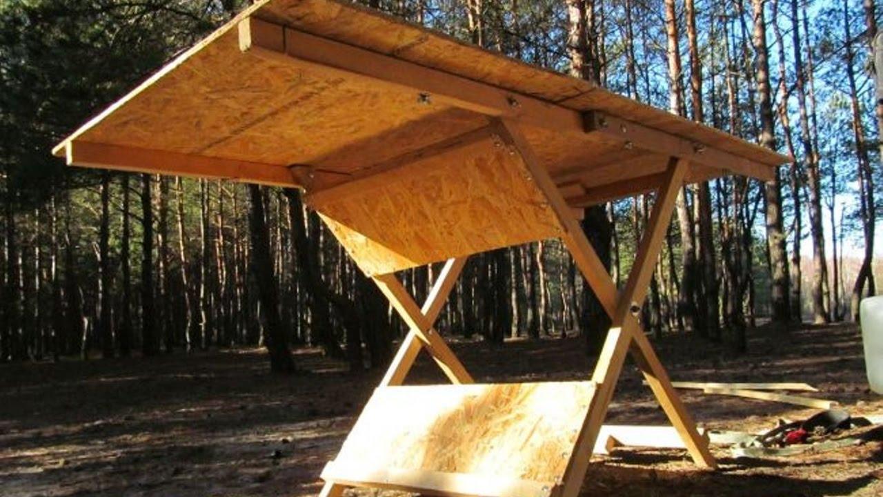 Самодельный раскладной столик для пикника своими руками