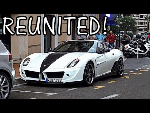 MANSORY STALLONE: Ferrari 599 Sounds in Monaco!