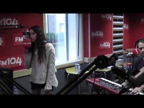 ELIZA DOOLITTLE - Always Be My Baby (Mariah Cover) LIVE in FM104 [HD]