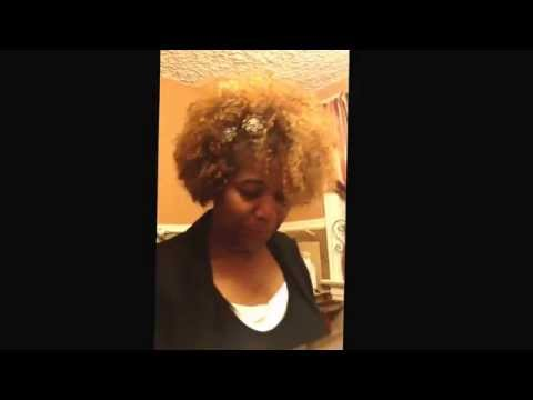 My reviews 4 Wash n go using kinky curly and knot for today