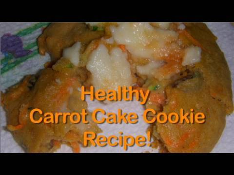 HEALTHY DESSERT Carrot Cake Cookies &#8211; 100 calories!