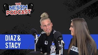 DIAZ & STACEY over EX ON THE BEACH / BORST VERGROTING & TRIO'S ! - NESIM PODCAST #7