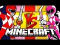 Minecraft: POWER RANGER LUCKY BLOCK CHALLENGE | OBSTACLE COURSE