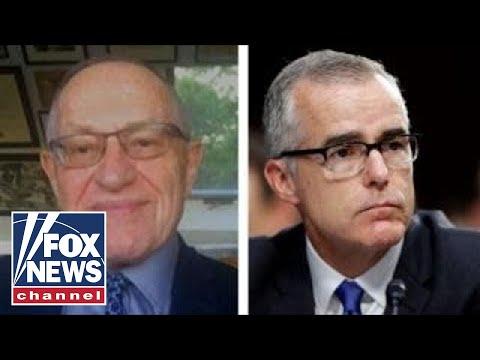 Alan Dershowitz: McCabe is entitled to challenge IG report