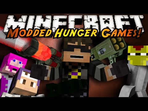 Minecraft Modded Hunger Games : Rival Rebels! (lasers, Nukes, Rockets!) video