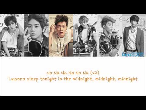 Beast - Midnight [Hangul/Romanization/English] Color & Picture Coded HD