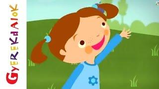 Hull a szilva (gyerekdal, rajzfilm gyerekeknek)