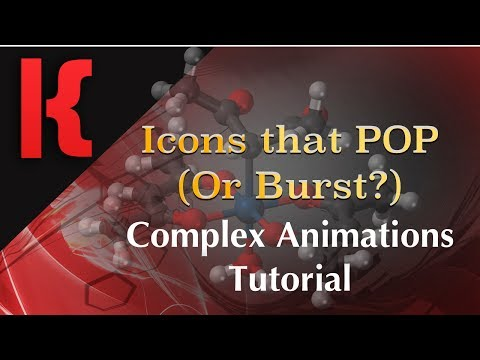 KLWP Tutorial -  Complex Animations - Popping Icons (Bursting Icons)