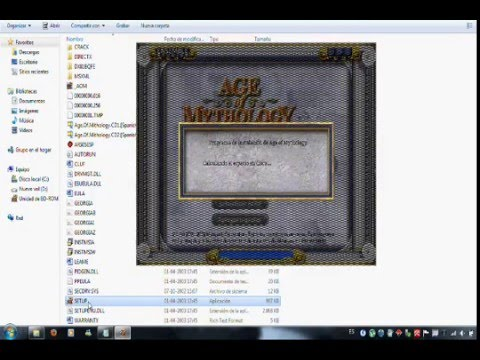 Como descargar e instalar age of mythology [1 link] Full en Español