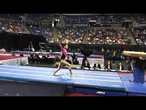 Laurie Hernandez 2012 Vault