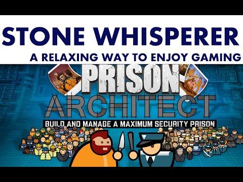 PRISON ARCHITECT | Day 3. Lockdown! | Relaxing ASMR Gameplay