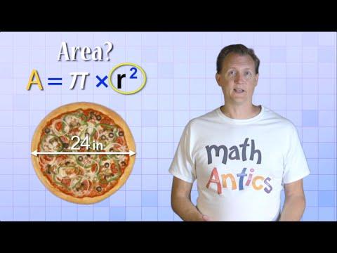 Math Antics - Circles, Circumference And Area