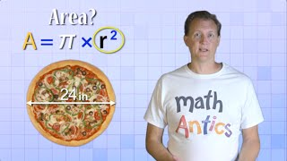 Math Antics - Circles, Circumference And Area