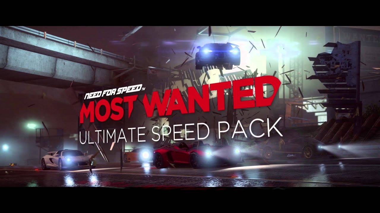 need for speed most wanted dlc trailer ultimate speed pack youtube. Black Bedroom Furniture Sets. Home Design Ideas