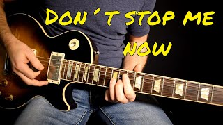 Queen - Don't Stop Me Now solo cover