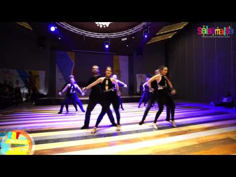 Depo Dans Group Bachata Show by Işıl & Besher | EDF 2017