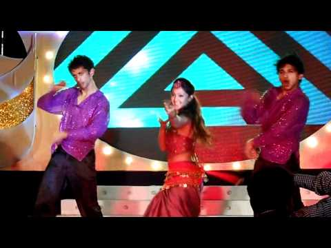 Aindrita Ray Live Performance at a Corporate Event at Pandit Resort Mangalore