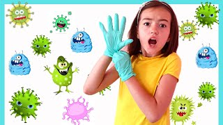 Ириша и детские истории про вирусы | Правила поведения для детей