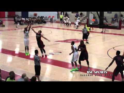 WHITE BOY WITH GAME NIKE King James Luke Kennard vs Wisconsin United Marshawn Wilson