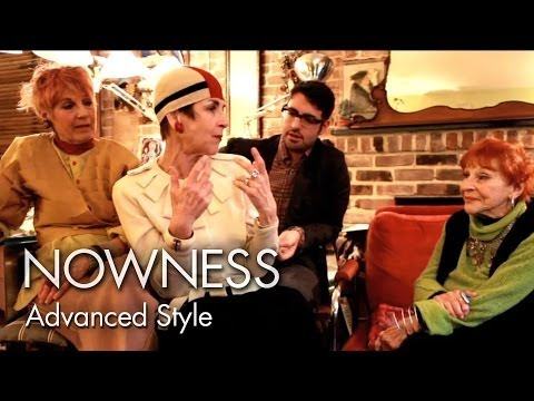 """Advanced Style"" by Lina Plioplyte and Ari Seth Cohen"