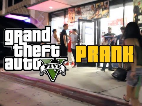 Grand Theft Auto 5: SPOILED *Spoilers* (GTA5 PRANK Gone Wrong)