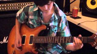 "Chapman Guitars ""Heart Of Fire"" Competition by 12 Year Old Callum."