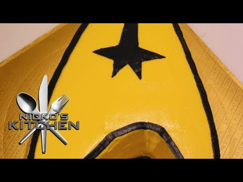 STAR TREK CAKE – RECIPE
