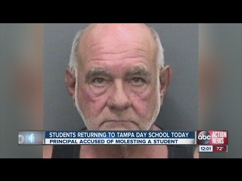 Tampa Day School back in session after principal's arrest