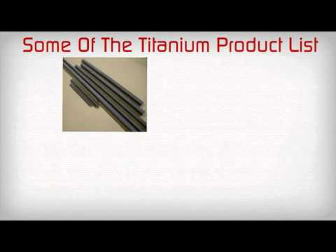 Looking for industrial titanium products?