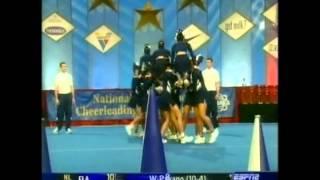 Kamehameha Schools Cheerleading 2004