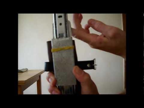 Как сделать спрятанный клинок( hidden blade )