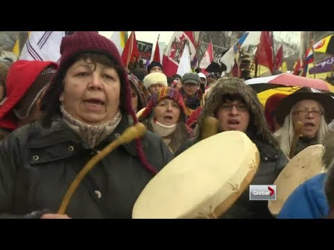 Global National - First Nations protests not winning over Canadians: poll
