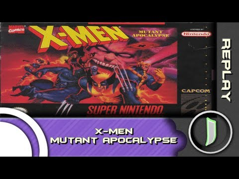 Bons tempos: REPLAY - X-Men Mutant Apocalypse (SNES)